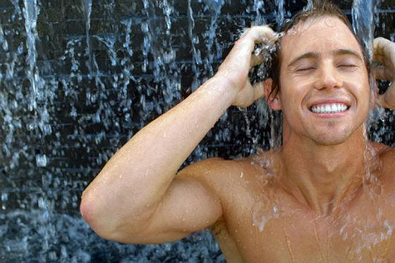 Принимать холодный душ -полезно!